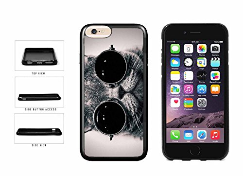 Cute Cat In Sunglasses TPU RUBBER SILICONE Phone Case Back Cover Apple iPhone 6 6s (4.7 inches screen) includes BleuReign(TM) Cloth and Warranty - Cat Sunglasses Fabulous