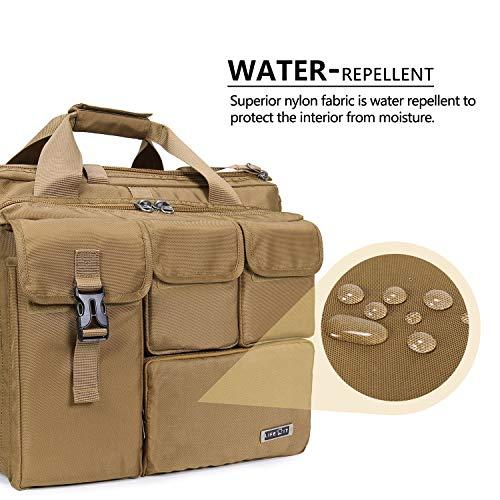 Lifewit 17'' Men's Military Laptop Messenger Bag Multifunction Tactical Briefcase Computer Shoulder Handbags by Lifewit (Image #5)