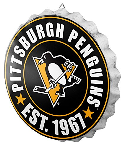 Pittsburgh Penguins 2016 Bottle Cap Wall Sign ()