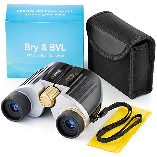 Kids Binoculars for Bird Watching - Compact, Shockproof | 8X22 Binoculars for Kids, Waterproof | Best Gift for Boys, Girls, Adults | HIGH Resolution & Real Optics Set for Outdoor Games