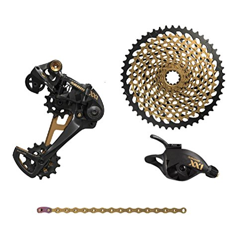 SRAM XX1 Eagle Black/Gold Groupset without Crankset by SRAM