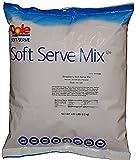 yogurt ice cream - Dole Soft Serve Mix, Raspberry, 4.95 Pound