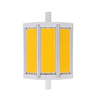 220V R7S LED Lámpara 78mm 118mm 135mm 189mm 10W 15W 20W 25W COB Bombilla Led Reemplace