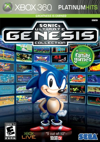 Sonic Ultimate Genesis Collection - Xbox - Collection Game Naruto