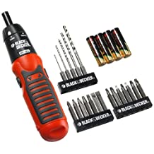 BLACK + DECKER 71-792c Alkaline Drill/Drive 20pc Set