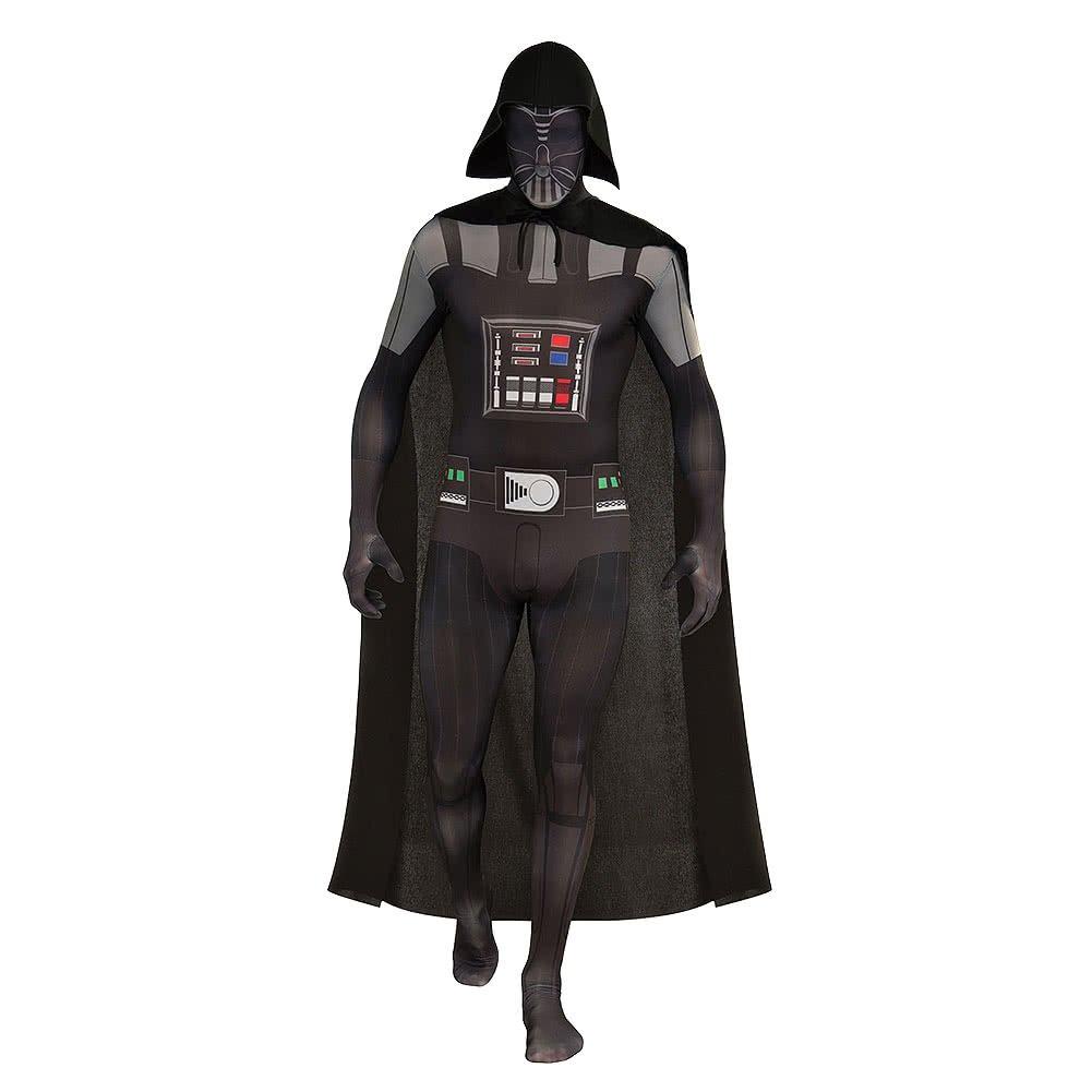 Ven a elegir tu propio estilo deportivo. Darth Vader Vader Vader Second Skin Suit Starwars Disfraz Negro Gris  productos creativos