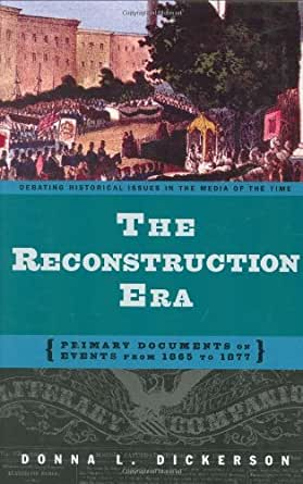the reconstruction period 1865 1877 Description should read information on the time period after the civil war  reconstruction (1866-1877)  with the assassination of president lincoln in 1865, it .