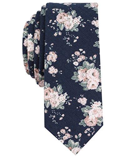 Original Penguin Mens Lemongrass Floral Tie Accessory