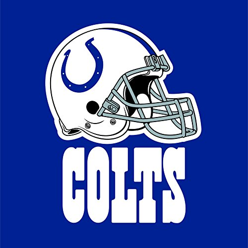 Creative Converting 16 Count Indianapolis Colts Lunch Napkins
