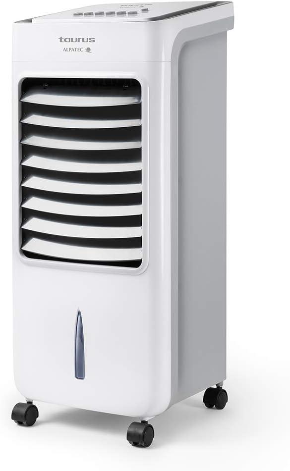 Taurus R850 Ventilador humidificador, 3 velocidades y modos, temporizador 7h, 7 L, mando a distancia, Plastic