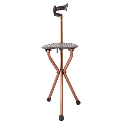Amazon.com: Zerone - Silla plegable de metal, ajustable, con ...