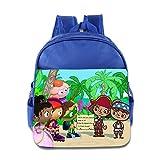 Kids Super Why School Backpack Cool Baby Boys Girls School Bag RoyalBlue