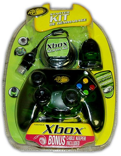 XBox Starter Kit Control Pad, Cable Keeper, & 8MB Memory - Xbox Card Memory 8mb