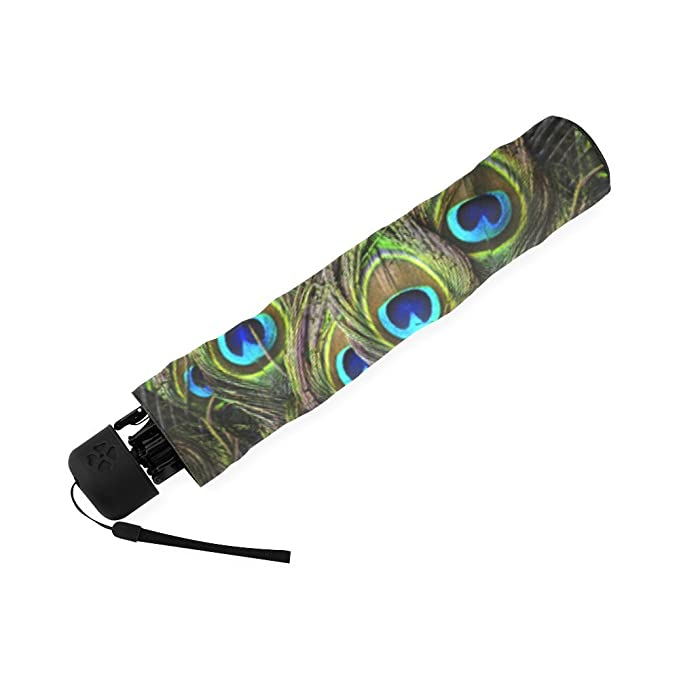 Amazon.com: Halloweens Day/Christmas Day Gifts Peacock Peacock Feather 100% Fabric And Aluminium High-quality Umbrella: Clothing
