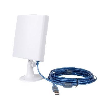 PIXNOR Amplificador de la antena de WiFi Larga Distancia refuerzo inalámbrico para Windows XP/Vista