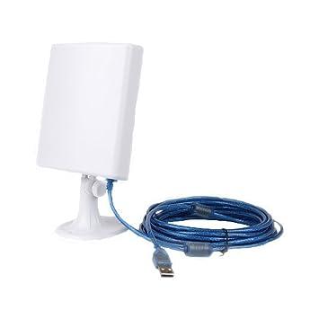 PIXNOR USB WiFi Antena Booster amplificador inalámbrico con alimentación USB de largo alcance para los/