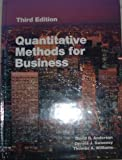 Quantitative Methods for Business, Anderson, David R. and Sweeney, Dennis J., 0314931473