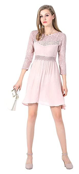 how to wear pink dress, 50 cutest outfits - color dresses