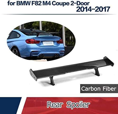 BMW F82 M4 2ドア2014-2017カーボンリアトランクウィングに最適