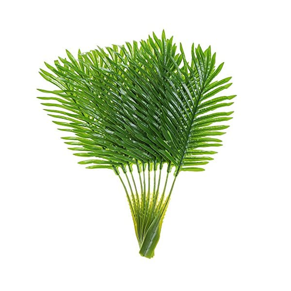 Artificial-Palm-Leaves-with-Stem-and-Tropical-Philodendron-Monstera-Fronds-Party-Decorations-Faux-Palm-Tree-Plant-Leaf-Fake-Imitation-Ferns-Branches-Home-Kitchen-Plastic-Decor-20-Pieces-AF49