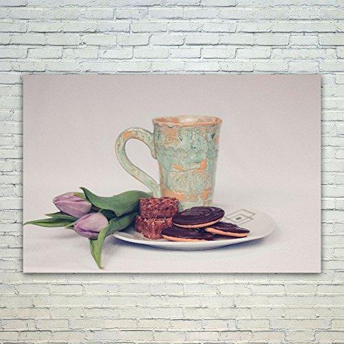 Westlake Art Plate Flower - 12x18 Poster Print Wall Art - Modern Picture Photography Home Decor Office Birthday Gift - Unframed 12x18 Inch (55A3-2CDA8) ()