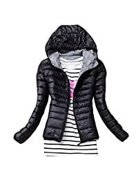 sensitives Autumn Winter Women Basic Jacket Coat Female Slim Hooded Brand Cotton Coats Casual Black Jackets