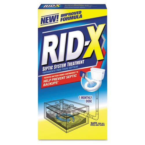 RID-X Rid-X Septic System Treatment, Concentrated Powder,...