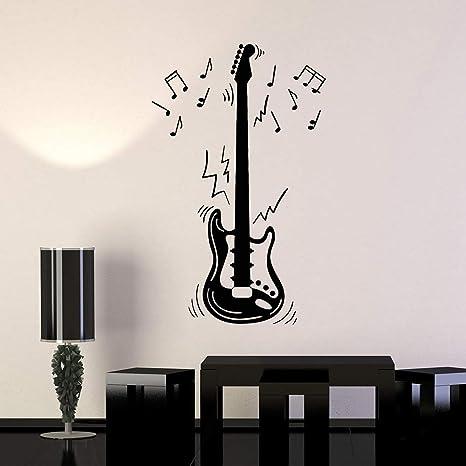 Notas de guitarra eléctrica Instrumento musical Música Vinilo ...