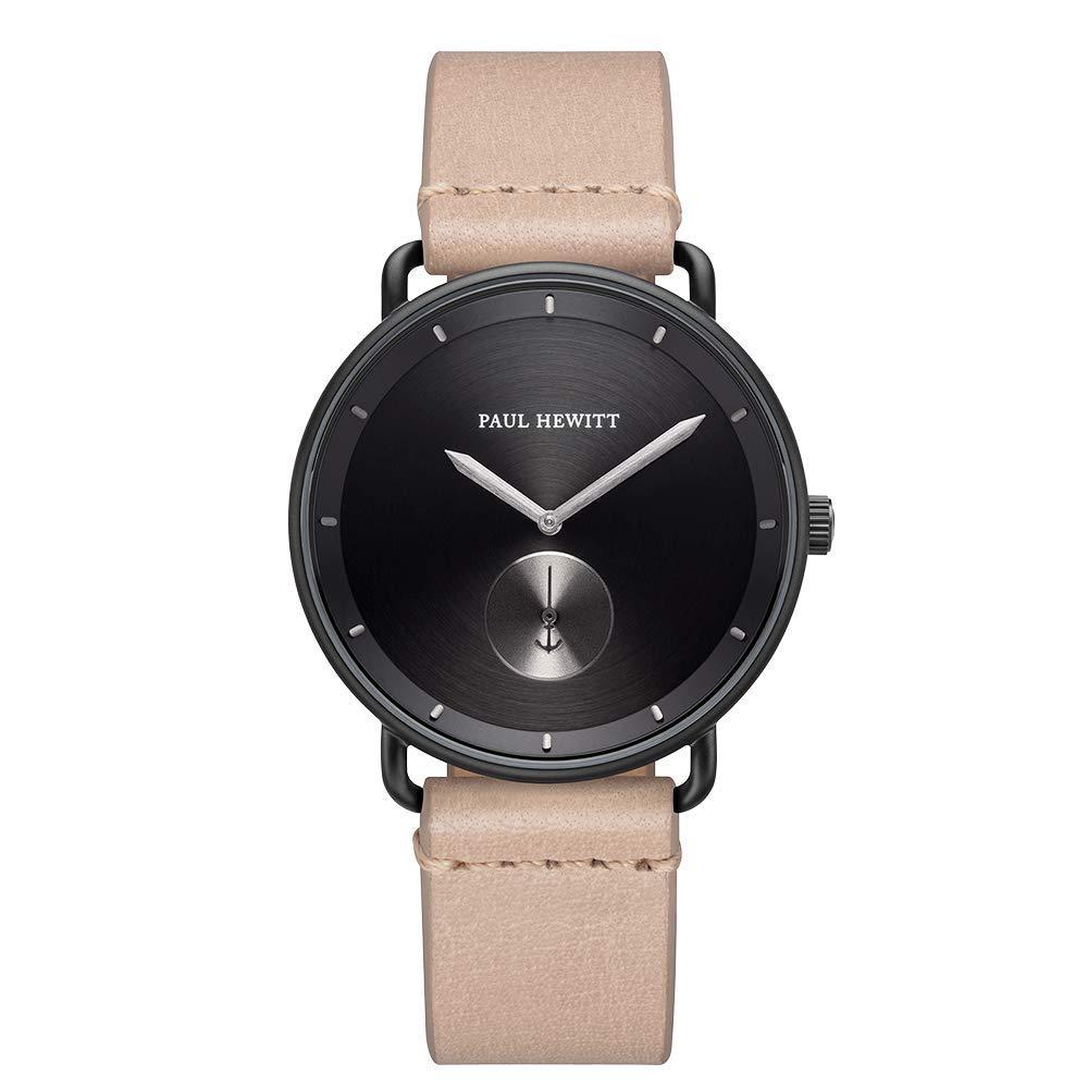 PAUL HEWITT orologio da uomo Breakwater Black Sunray IP nero
