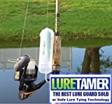 LURE TAMER in three sizes, No More Exposed Hooks When Not In Use
