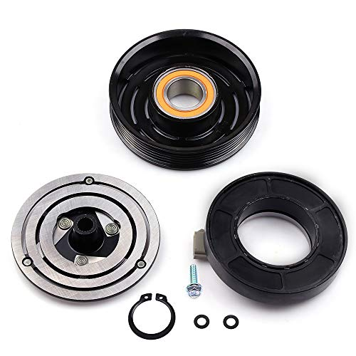 FEIPARTS CO 101410C A/C Compressor Fit for 1993-2004 F150 F53 Ford Mustang Taurus Sable Mercury Air Conditioning Compressor
