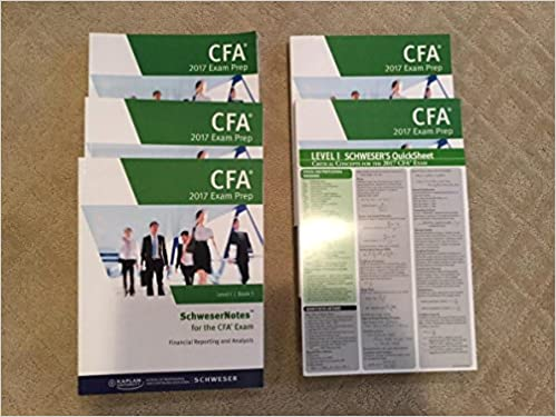 2017 CFA Schweser Notes Level 1: Kaplan Schweser