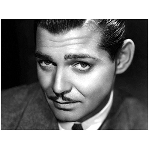 Close Up of Handsome Young Clark Gable in Suit and Tie - 8x10 Photograph / Photo - Black and White