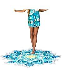 Beach Cover Ups, iBaste Multi-Function Beachwear Kimono With Beach Towel