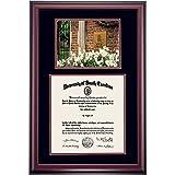 South Carolina Gamecocks Diploma Frame Black Maroon Matting Photograph