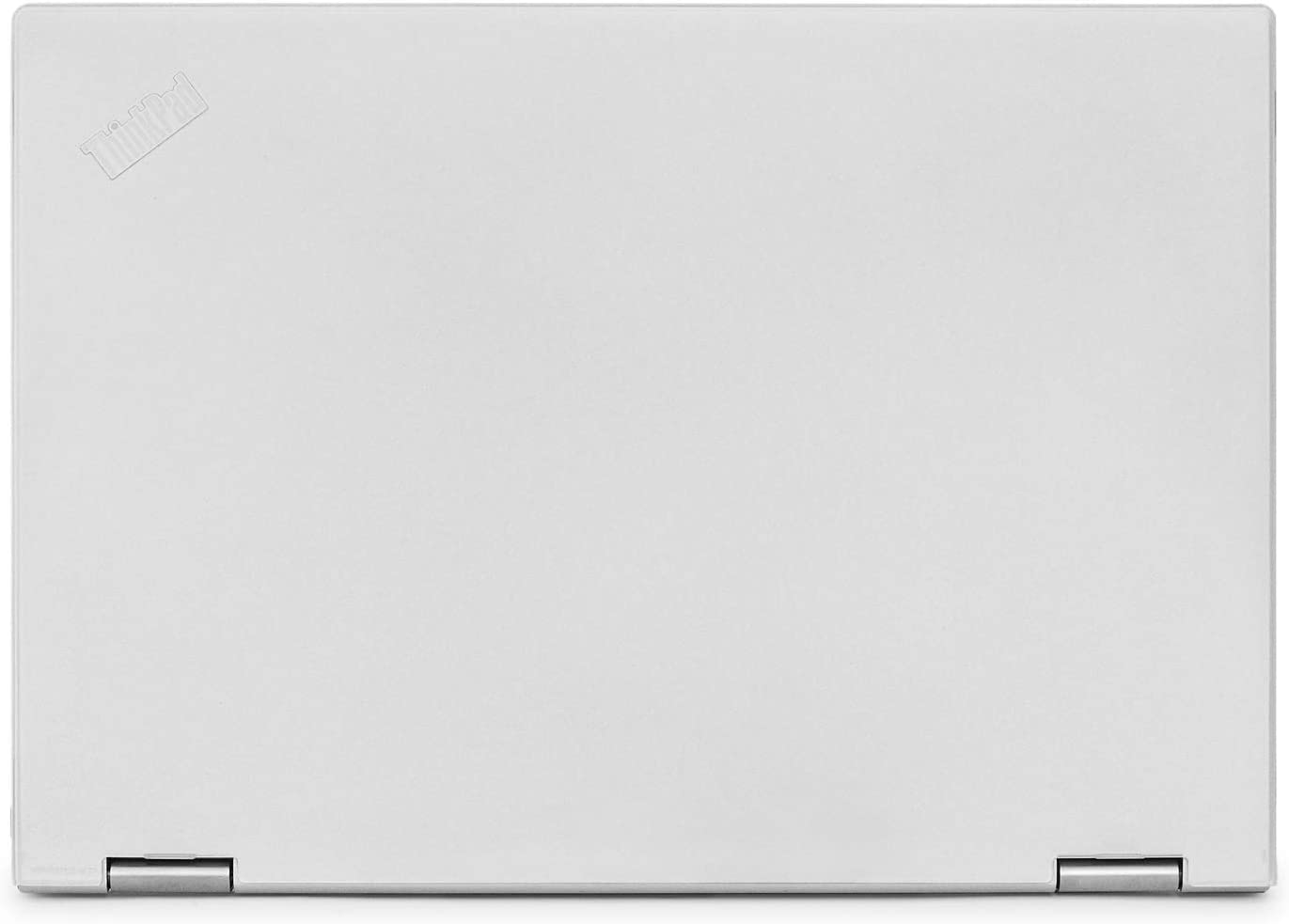 """mCover Hard Shell Case for 13.3"""" Lenovo ThinkPad X380 Yoga Laptop (Clear)"""