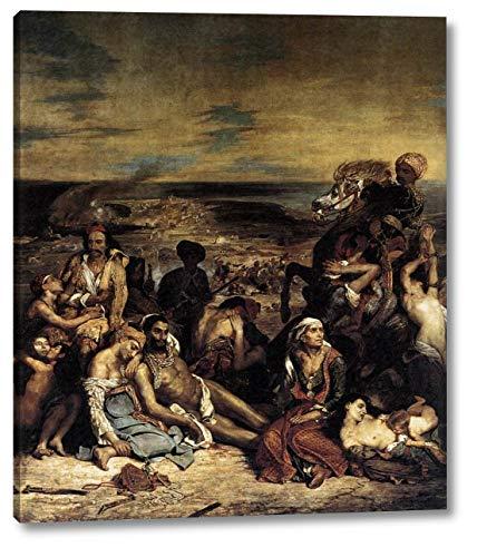 The Massacre at Chios by Eugene Delacroix - 12