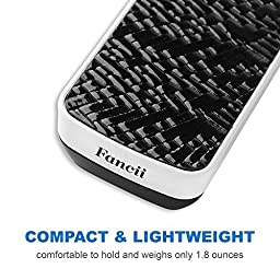 Fancii LED Lighted Slide out Pocket Magnifying Glass - 10X 20X and 30X Multi-Power Small Portable Loupe Magnifier with UV Black Light | Best for Jewelry, Diamonds, Gems, Coins, Stamps, Rocks