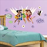 FATHEAD Disney Disney Fairies Junior Wall Graphic