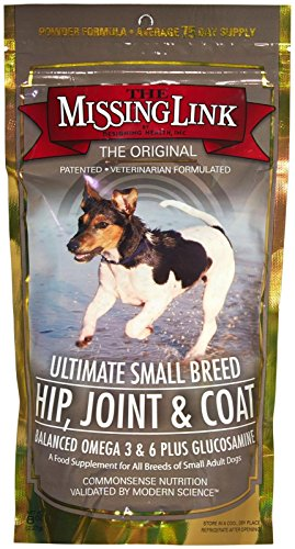 The Missing Link Ultimate Small Breed Hip, Joint and Coat 8 Ounce