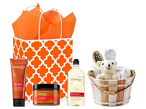 Spa Day Getaway Gift Set - Bath & Body Works Energy Orange Ginger