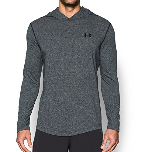 Under Armour Mens Threadborne Siro Hoodie  Black Black  X Large