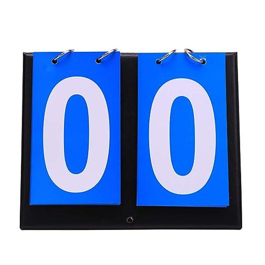 EisEyen - Tabla de puntuación portátil de 2/3/4 dígitos para ...