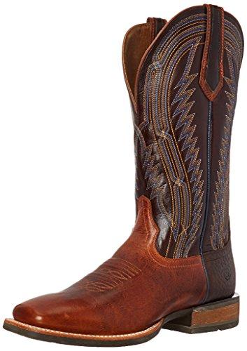 Ariat Men's Chute Boss Western Boot, Caliche/Bittersweet Chocolate, 11 2E US