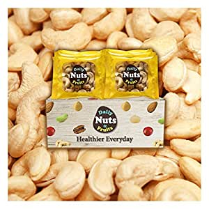 """Just Cashews"" 2lbs, WHOLE-KERNEL (Fresh Light-Roasted), 32 packs (1 oz), No Additives, On the go, unsalted, Natural, Premium Nuts, On the Go, Mixed Nuts, Multi Pack, Roasted Nuts, Cashews nuts"
