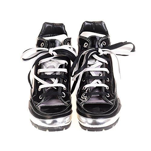 Candice Cooper Damen Sneaker High Leder Schwarz