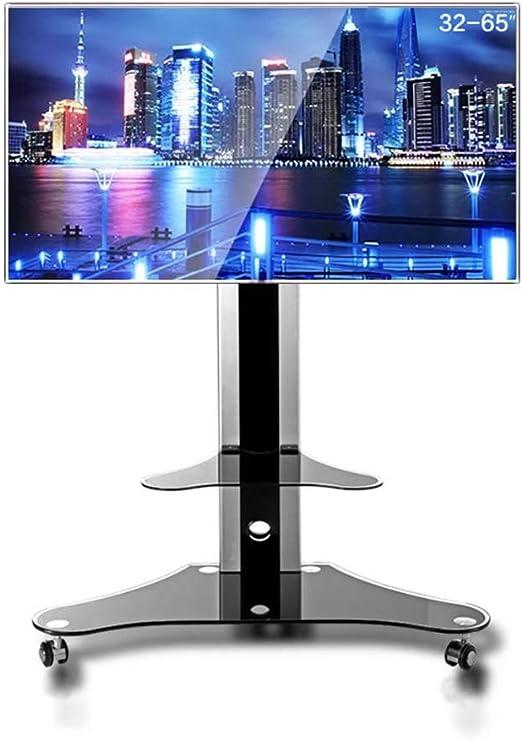 XUE Universal TV Cart, TV Srtand para 32 – 65 Pulgadas LCD LED Tvs ...