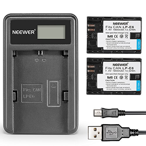 Neewer 1800mAh Replacement Rechargeable Battery