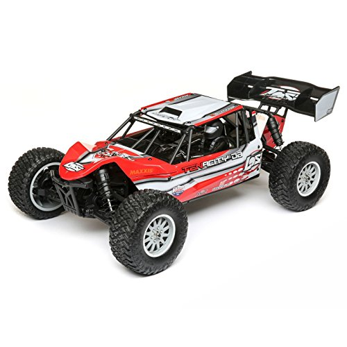 Losi Comp Crawler - Losi Tenacity DB Desert Buggy Brushless 4WD RC Truck 4x4 RTR with DX2E Transmitter with AVC (Battery and Charger Not Included), 1/10 Scale (Red/Grey)