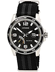 Citizen Watches Mens AW7030-06E Eco-Drive Black/Grey Watch